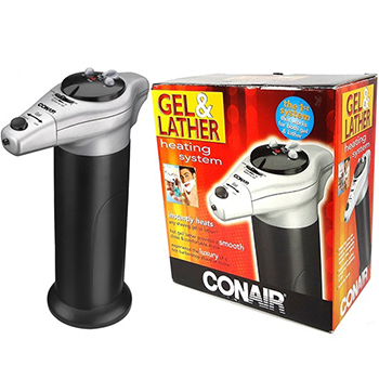 Conair shaving cream warmer