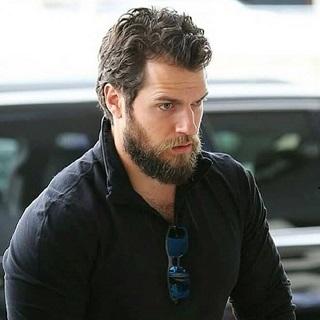 Henry Cavill beard style