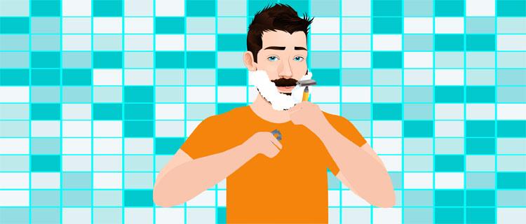 STEP 5- Start Shaving