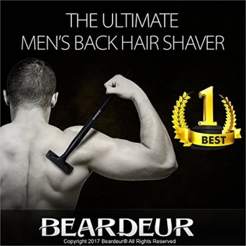Beardeur Men's Back Hair Shaver