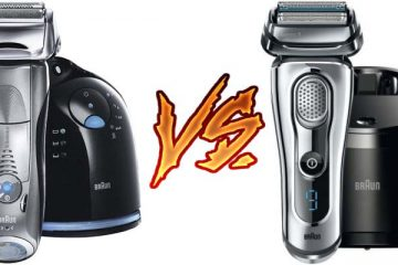 Braun Series 7 vs Series 9