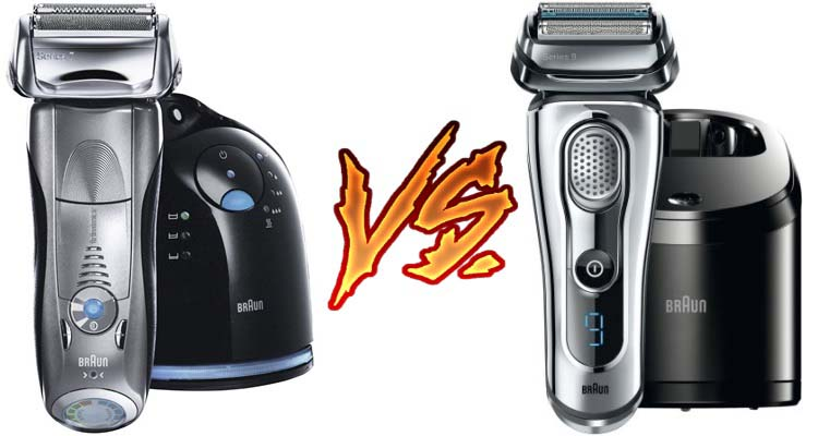 Braun Series 7 vs Series 9