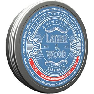 Lather Wood Shaving Soap