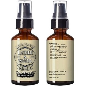 Lather Wood pre-shave oil