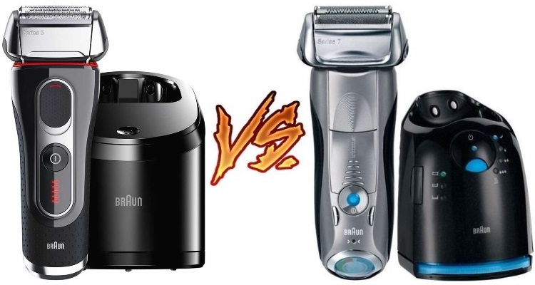 Braun Series 5 vs 7