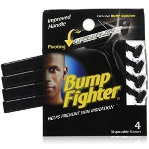 Bump Fighter Mens Disposable Razors