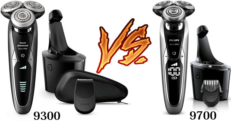 Phillips Norelco 9300 vs 9700