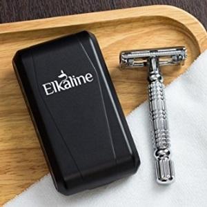 Elkaline Razors Shaving Kit for Men or Women