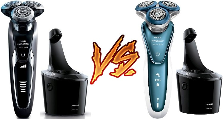 Philips Norelco 9300 vs 7300