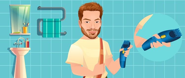Set your stubble trimmer's length setting
