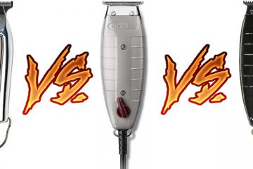 Wahl Detailer vs Andis T-Outliner vs Andis GTX