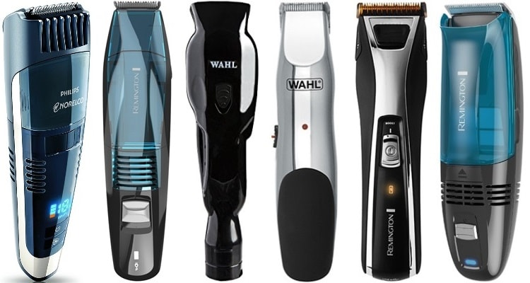 Best Vacuum Beard Trimmers Hair Clippers
