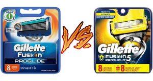 Gillette Fusion ProGlide vs ProShield: What Works Better?