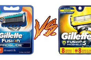 Gillette Fusion ProGlide vs ProShield
