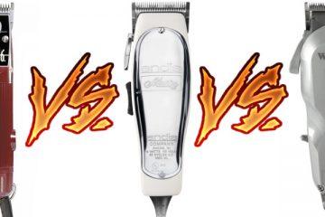 Oster 76 vs. Andis Master vs. Wahl Senior