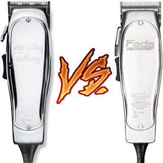 Andis Master vs Fade Master comparison