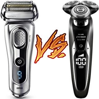Braun Series 9 9290cc vs Norelco 9700