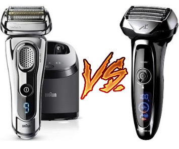 Braun Series 9 9290cc vs Panasonic Arc5 ES-LV95-S