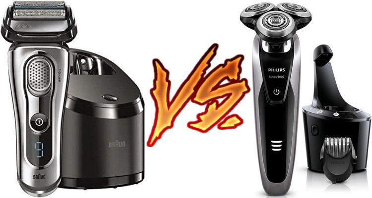 Braun vs Norelco Shaver