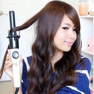 Kiss Ceramic Automatic Curling Iron