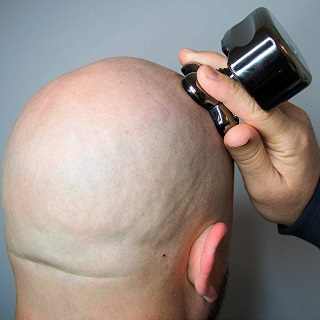 Pitbull gold head shaving performance