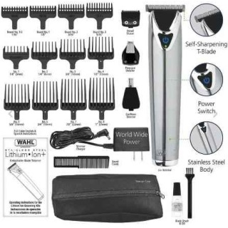Wahl 9818 Lithium Ion+ Stainless Steel Trimmer