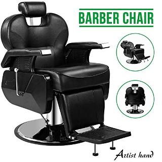 Artist Hand's Hydraulic Recline Barber Chair