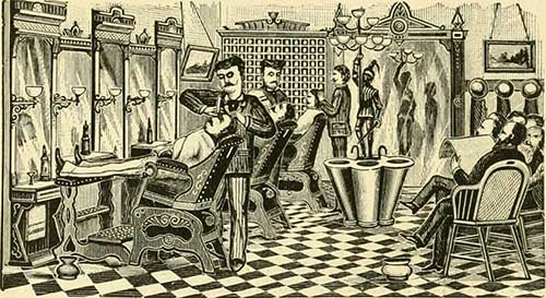 History of the Barber Chair