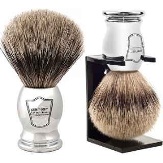 Parker Safety Razor 100% Silvertip Badger Bristle Shaving Brush