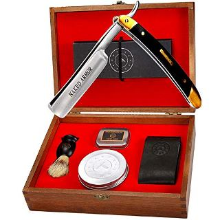 The Solomon Straight Razor Kit