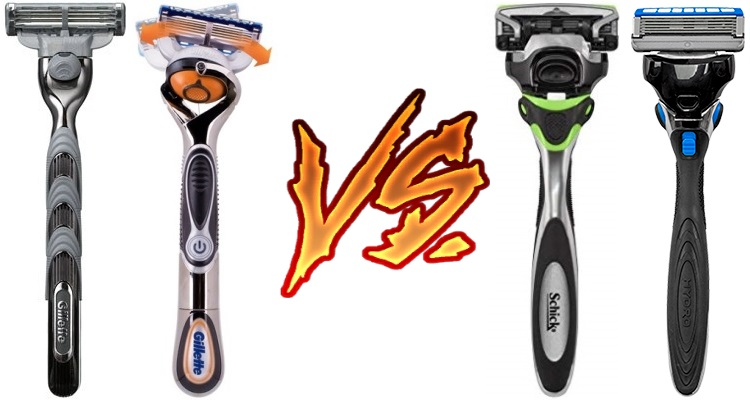 Gillette vs Schick