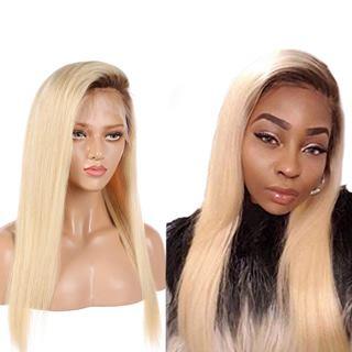 Nobel Hair Blonde Peruvian Virgin Human Hair Wig