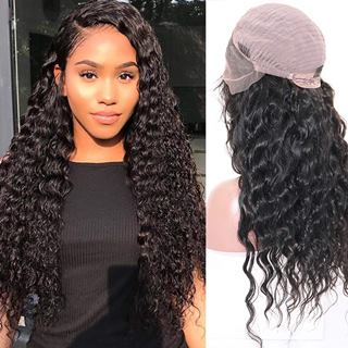 Releek Deep Wave Lace Front Wigs