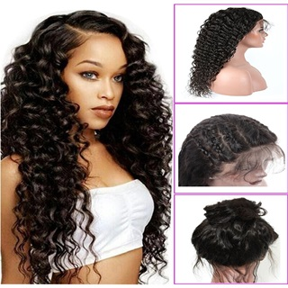 Younsolo Brazilian Deep Wave Lace Front Wig