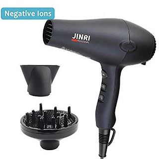 JINRI 1875W Professional Tourmaline Hair Dryer