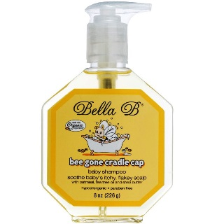Bella B Bee Gone Cradle Cap Baby Shampoo