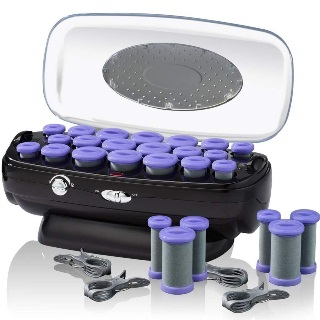 Conair INFINITIPRO Instant Heat Ceramic Flocked Rollers