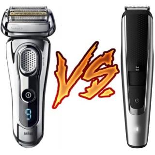 Shaver vs Trimmer