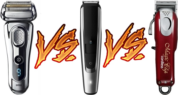 Shaver vs. Trimmer vs. Clipper