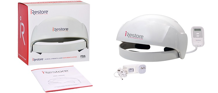 Unboxing iRestore Laser Hair Growth System