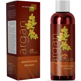 Maple Holistics Pure Argan Oil Hair Growth Therapy Shampoo