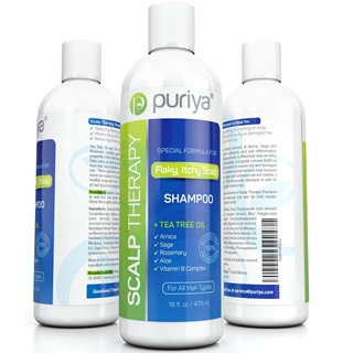 Puriya Sulfate Free Tea Tree Oil Shampoo