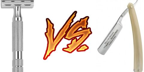 Safety Razor vs Straight Razor