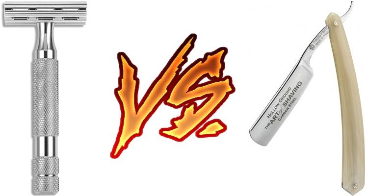 Safety Razor vs Straight Razor