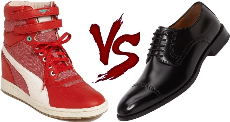 Sneakers vs Shoes