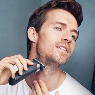 Shaving experience with Braun Series 8 shaver