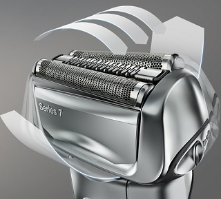 Syncrosonic Technology and 8 Directional Shaver Head