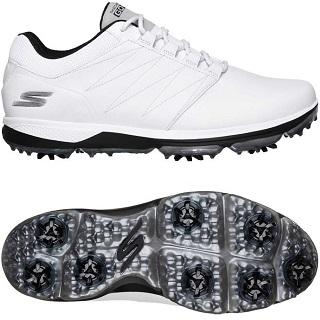 Skechers Men's Pro 4 Waterproof Golf Shoe
