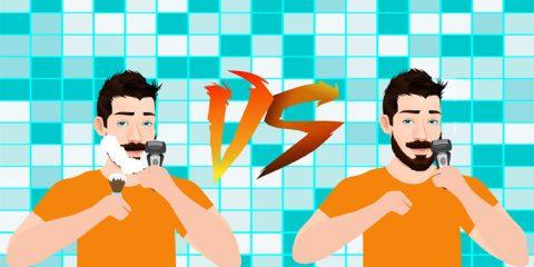 Wet Shaving Vs. Dry Shaving