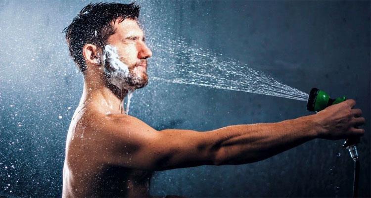 How to wash a beard